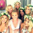 Taylor Cole et ses demoiselles d'honneur / photo postée sur le compte Instagram d'Ana Schlissler