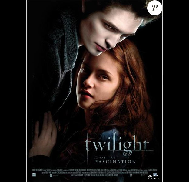 Affiche du premier film Twilight.