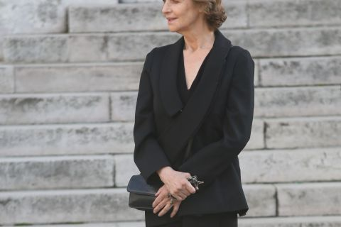 Obsèques de Jean-Noël Tassez : L'adieu de sa compagne Charlotte Rampling