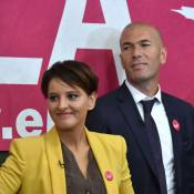 Zinédine Zidane : Dictée sportive au côté de Najat Vallaud-Belkacem