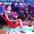 Julia Paredes ( Les Anges 7 ) en dit plus sur son agression à Cannes et sur son accident de  blob jump  dans le  Mag de la téléréalité  sur NRJ12. Le 13 octobre 2015.
