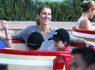 Céline Dion : Au naturel, la star s'amuse avec ses enfants à Disneyland !