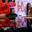 Equipe Patrick Fiori - Battle entre Jane (14 ans), Naomie (14 ans) et Théo (12 ans) -  The Voice kids , émission du 16 octobre 2015 sur TF1.