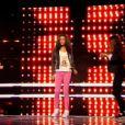 Equipe Louis Bertignac - Battle entre Shaina (14 ans), Joseph (14 ans) et Laura (13 ans) -        The Voice kids     , émission du 16 octobre 2015 sur TF1.