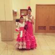 Bianca Balti et sa fille aînée Matilde lors de leurs vacances à Marbella