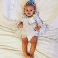 Bianca Balti fière de sa petite dernière née en avril 2014, Mia