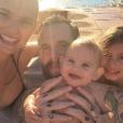 Bianca Balti et sa jolie famille