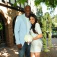 Khloé Kardashian et Lamar célèbre leur premier anniversaire de mariage dans la maison du producteur Irving Azoff à Beverly Hills le 27 septembre 2010