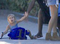 Kourtney Kardashian ignore sa petite Penelope, victime d'une sacrée chute !