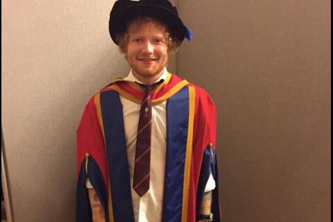 Ed Sheeran honoré : Ses étonnants propos sur l'éducation...