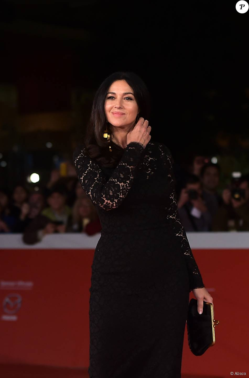 monica bellucci la premi re du film ville marie au festival du film de rome le 20 octobre 2015. Black Bedroom Furniture Sets. Home Design Ideas