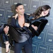 Kendall et Kylie Jenner, Diane Kruger, défilé de beautés pour Balmain et H&M