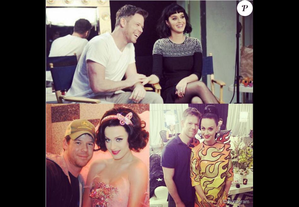 Jake Bailey, maquilleur des stars adoré notamment par Katy Perry et Ashley Benson, est mort à 37 ans le 22 octobre 2015. Un suicide, vraisemblablement... Photo Instagram Katy Perry.