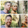 Jake Bailey (ici avec Nicole Richie), maquilleur des stars adoré notamment par Katy Perry et Ashley Benson, est mort à 37 ans le 22 octobre 2015. Un suicide, vraisemblablement... Photo Instagram Jake Bailey.