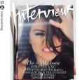 Selena Gomez en couverture d'Interview, maquillage par Jake Bailey. Jake Bailey, maquilleur des stars adoré notamment par Katy Perry et Ashley Benson, est mort à 37 ans le 22 octobre 2015. Un suicide, vraisemblablement... Photo Instagram Jake Bailey.