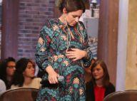 Natasha St-Pier, très enceinte : Petit moment entre amis du côté de chez Dave...