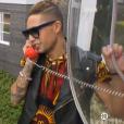 Eddy décroche le téléphone rouge, dans  Secret Story 9 , le dimanche 25 octobre 2015.