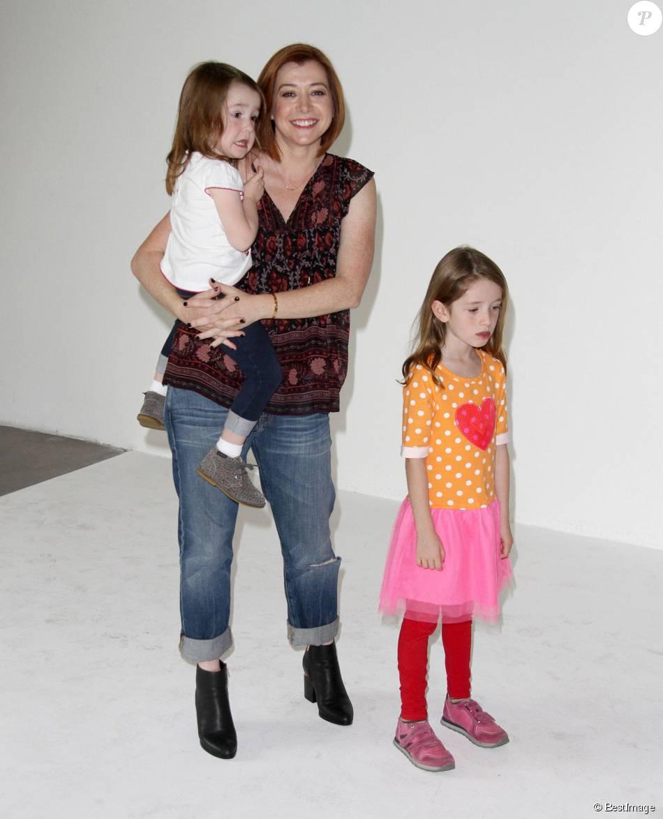 Alyson Hannigan, ses filles Satyana Marie Denisof et Keeva ...