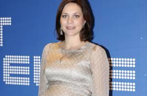 Nathalie Péchalat, enceinte :