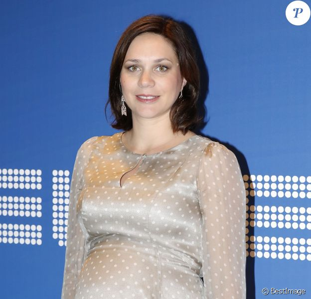 Nathalie Péchalat aux Sportel Awards au Grimaldi Forum de Monaco le 13 octobre, 2015 © J.C. Vinaj