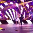 Priscilla Betti et Christophe Licata dans Danse avec les stars 6, sur TF1, le samedi 31 octobre 2015