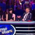Thierry Samitier et Emmanuelle Berne dans Danse avec les stars 6, sur TF1, samedi 31 octobre 2015.