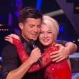 Vincent Niclo et Katrina Patchett dans Danse avec les stars 6, sur TF1, samedi 31 octobre 2015.