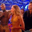 Djibril Cissé et Sylvia Notargiacomo dans Danse avec les stars 6, sur TF1, samedi 31 octobre 2015
