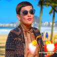 Cristina Cordula, invitée de  Salut les terriens  sur Canal+, le samedi 31 octobre 2015.