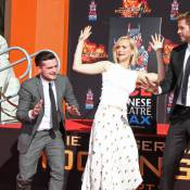 Jennifer Lawrence et les stars d'Hunger Games entrent dans la postérité