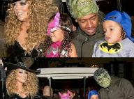 Mariah Carey fête Halloween avec les jumeaux, son chéri et... son ex Nick Cannon