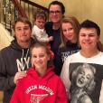 Rosie O'Donnell et ses enfants adoptifs / photo postée sur Instagram.