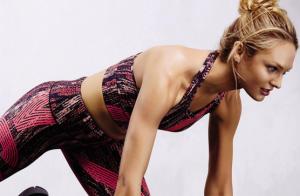 Candice Swanepoel et les Anges : Sexy dans l'effort juste avant le show !