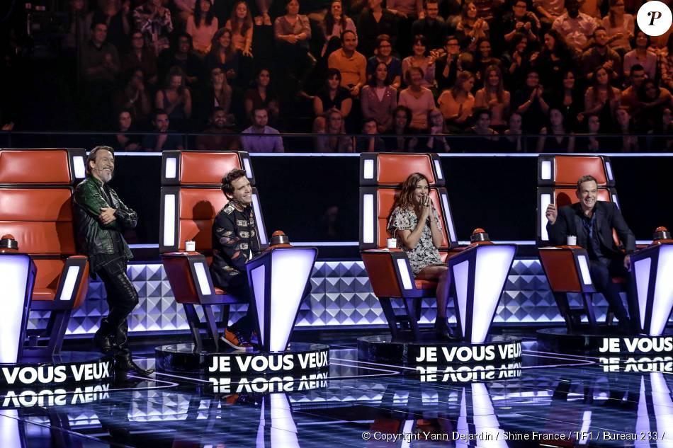 Les coachs de The Voice 2016 survoltés lors de la première salve d'auditions à l'aveugle, le 9/11/15