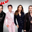 La photo officielle des quatre coachs de The Voice 5