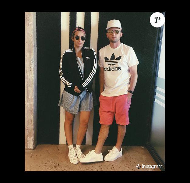 Alanna Masterson et son petit-ami Brick Stowell / photo postée sur Instagram.