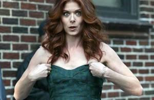 REPORTAGE PHOTOS : Debra Messing est la plus sexy... des rousses !