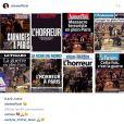 Les stars françaises expriment leur chagrin sur Instagram, après les attentats du 13 novembre 2015 à Paris.