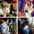 Taylor Swift fête l'anniversaire de Lily Aldridge avec sa fille Dixie à Disneyland / photo postée sur Instagram.