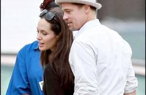 REPORTAGE PHOTOS : Brad et Angelina... dernière pause tendresse avant le retour en France !