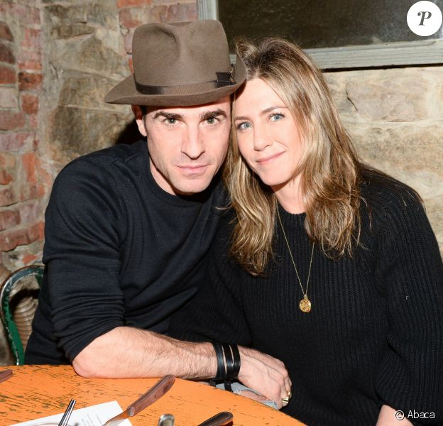 Justin Theroux et Jennifer Aniston au Scott Campbell & Saved Wines Host: A Dinner To Celebrate Wholte Glory à New York le 15 novembre 2015