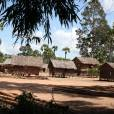 """Exclusif - Préparation du lieu de tournage du prochain film d'Angelina Jolie """"First They Killed My Father"""" à Siem Reap au Cambodge, le 11 novembre 2015."""