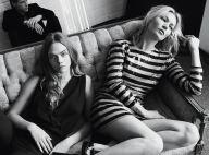 Kate Moss et Cara Delevingne : Les égéries de Mango seront chic pour les Fêtes
