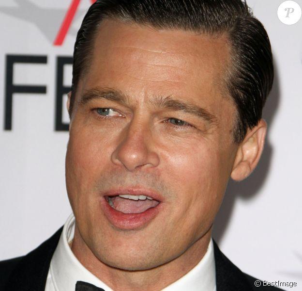 """Brad Pitt - Avant-première du film """"By the Sea"""" lors du gala d'ouverture de l'AFI Fest à Hollywood, le 5 novembre 2015."""