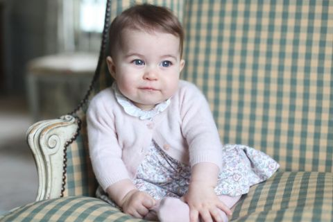 Charlotte de Cambridge : Enfin des photos de la princesse de Kate et William !