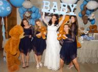 "Jade Foret enceinte de son premier garçon : Sa ""baby shower"" en robe de mariée !"