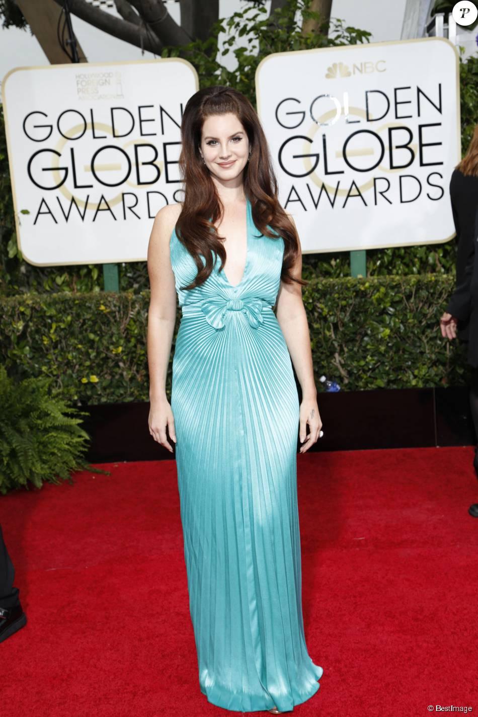 Lana del Rey - La 72ème cérémonie annuelle des Golden Globe Awards à Beverly Hills, le 11 janvier 2015