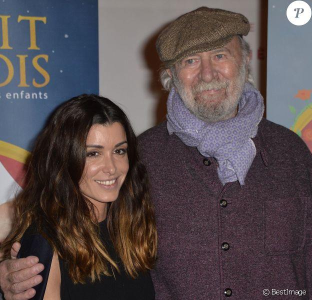 Jenifer et Jean-Pierre Marielle lors de la générale de la pièce Il était une fois au théâtre de la Michodière à Paris le 5 décembre 2015 © Veeren