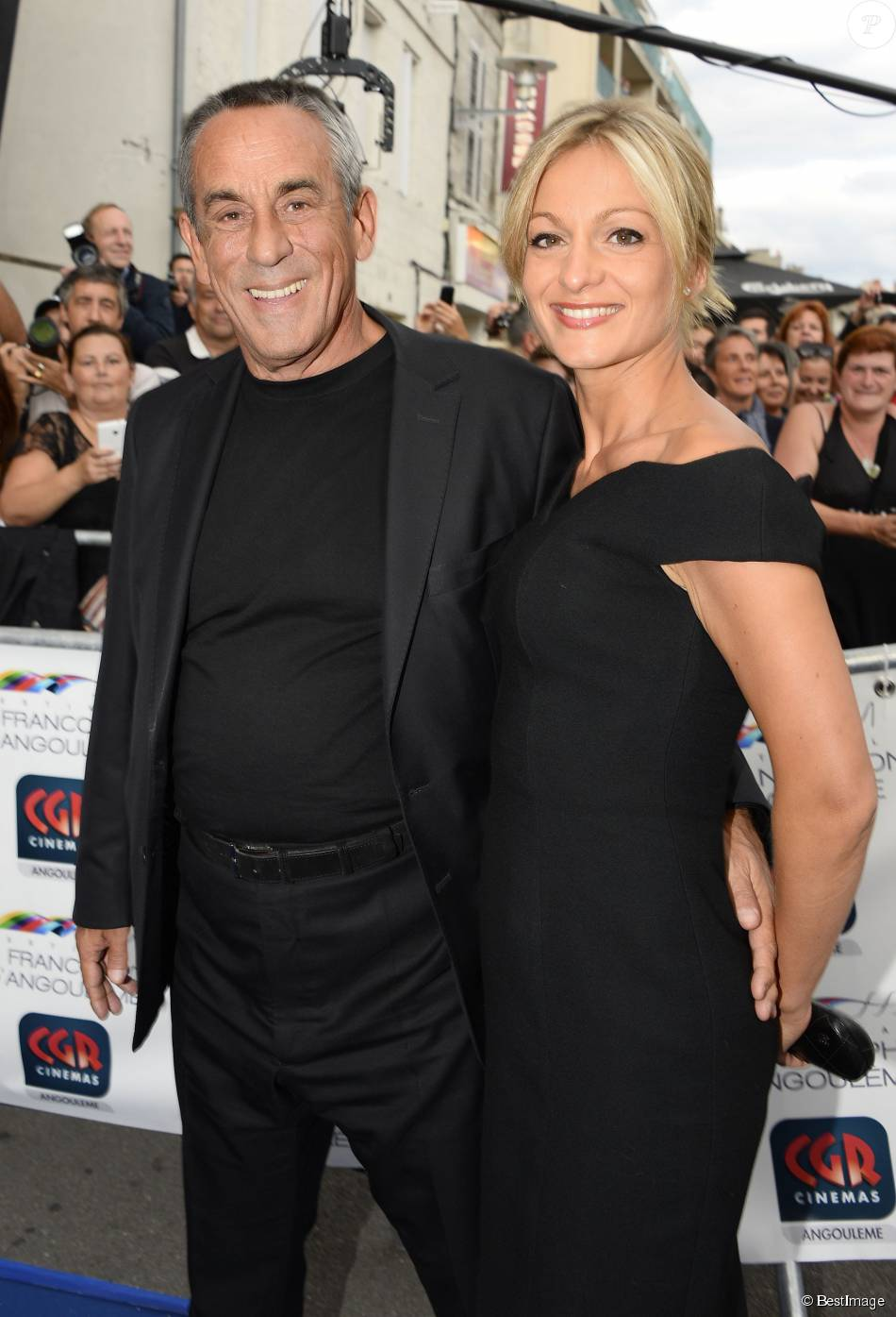 thierry ardisson et sa femme audrey crespo mara avant. Black Bedroom Furniture Sets. Home Design Ideas
