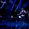 Nico Pires, dans  Incroyable Talent 2015  (la finale), le mardi 8 décembre 2015 sur M6.